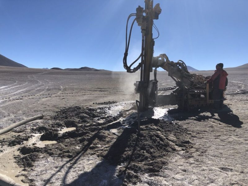 Optimization: Drilling in Chile